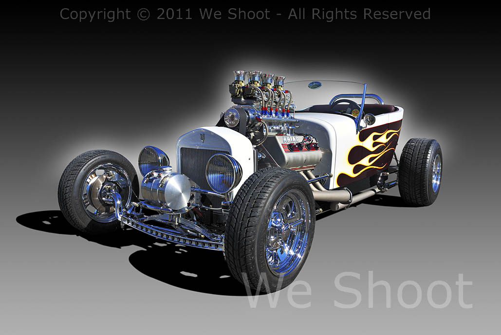 Seattle Automotive Photographer - Automotive Images and Video - 27 T-Bucket