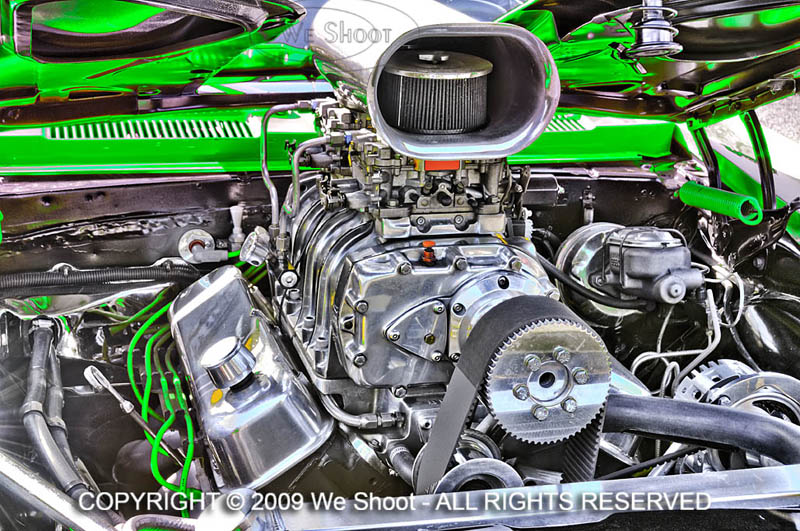 automotive photography supercharger